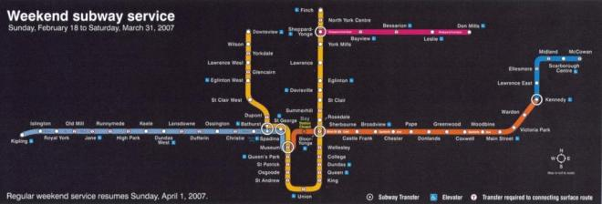 Subway Map Big