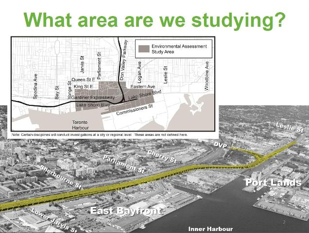 Gardiner Expressway : The gardiner expressway and transit to downtown steve munro