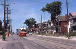 Southbound on Oakwood at Earnscliffe 1974.07.11