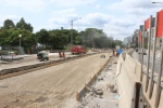 New trackbed W from Spadina