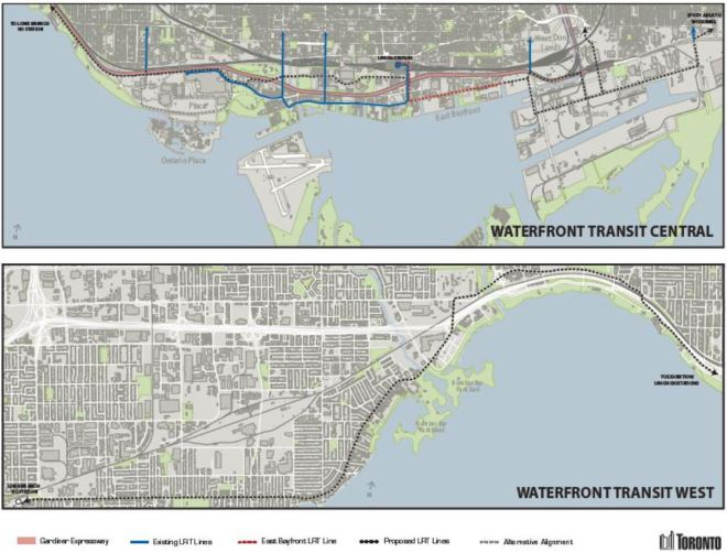 MapOfWaterfrontTransitPlans_20150913