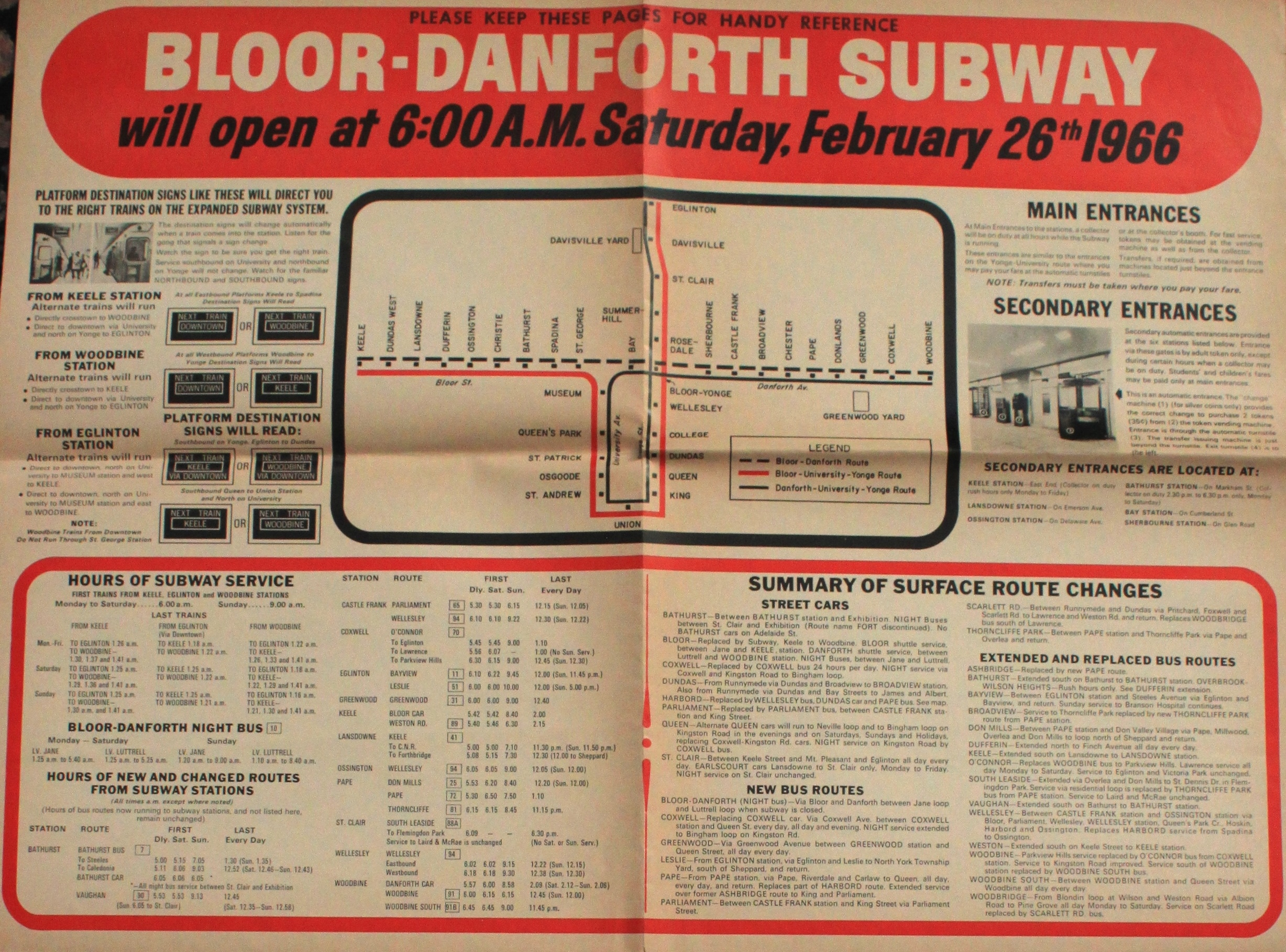 Bloor Danforth Subway Map.There S A New Subway On The Way 5 Steve Munro
