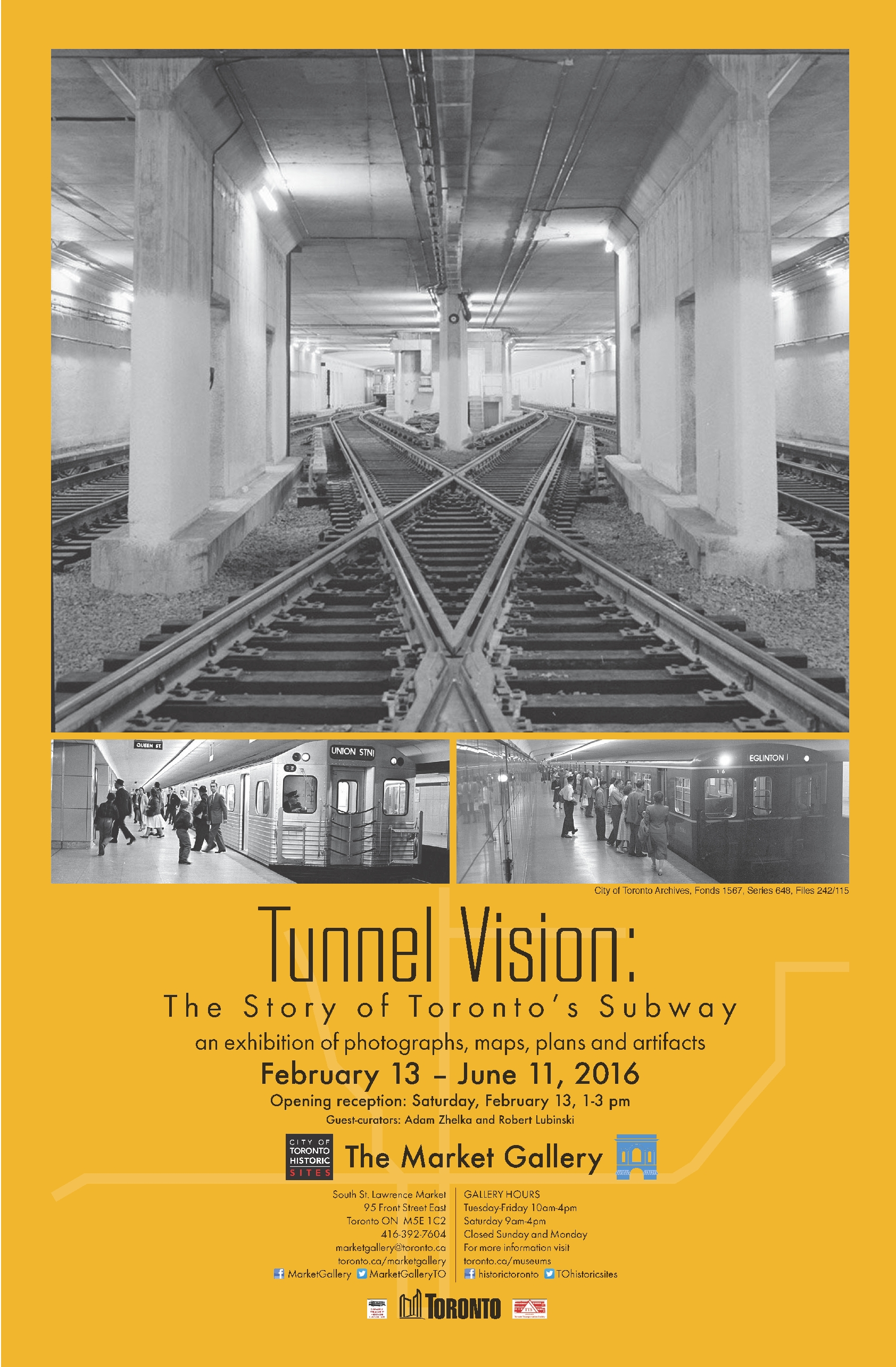 Tunnel Vision: An Exhibit at the Market Gallery | Steve Munro