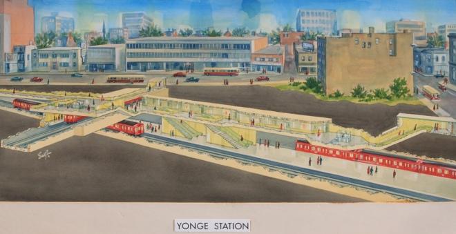 Yonge_Station_Serafin_1957w