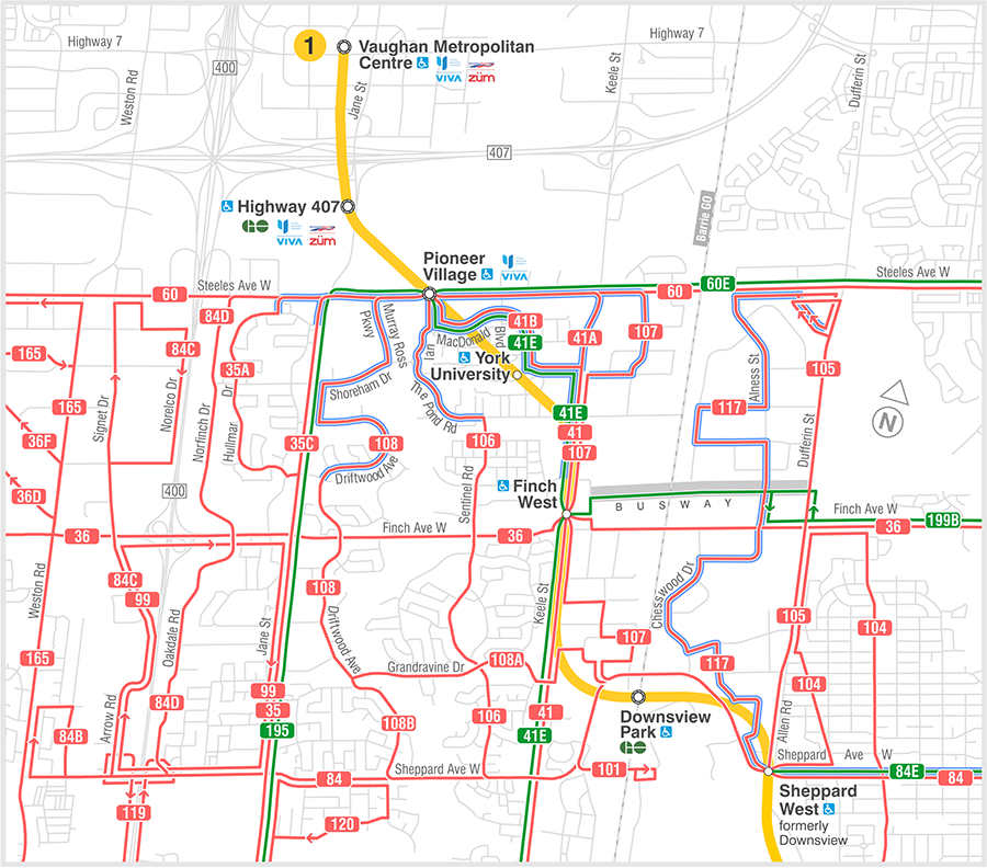 Questions regarding transit cabotage and routes post subway