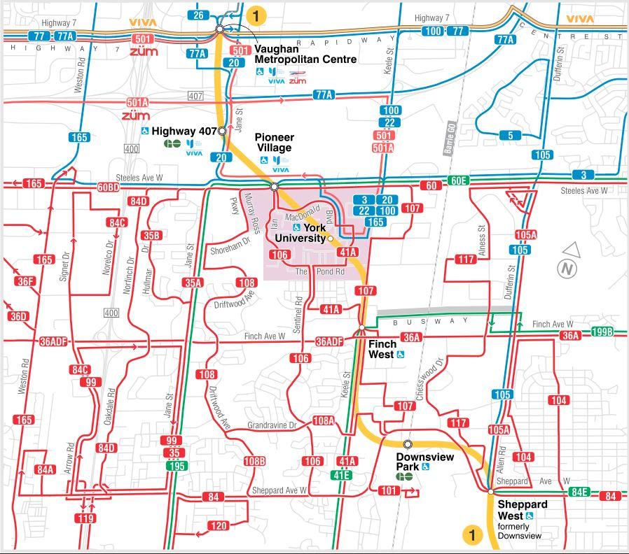 Ttc Subway Map Vs Actual.Ttc Service Changes Effective Sunday December 17 2017 Steve Munro